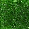 Miyuki Tila Half Cut 5X2.3mm 2Hole Light Emerald Transparent